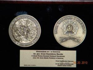 Medale dla szkoły